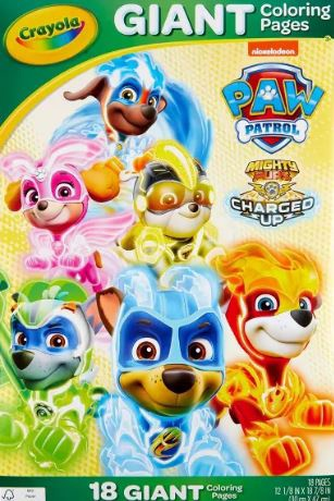 Crayola Giant Coloring Pages - Paw Patrol   The Stationery ...
