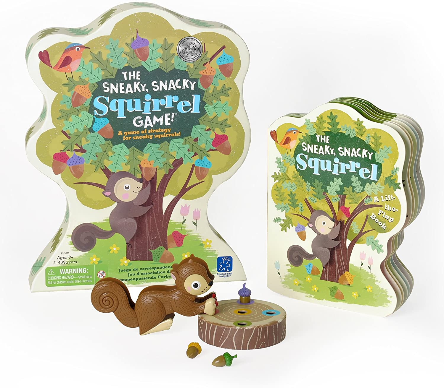 EDUCATIONAL INSIGHTS - The Sneaky, Snacky Squirrel Game ...